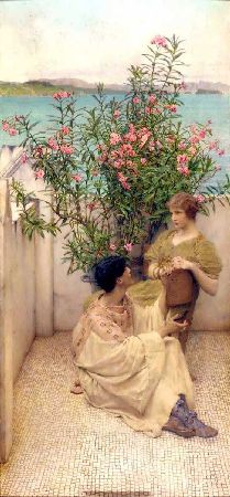 Romantic Art - Courtship - Alma Tadema