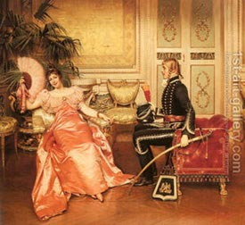 Romantic Art - Flirtation