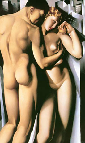 lempicka-adam-and-eve