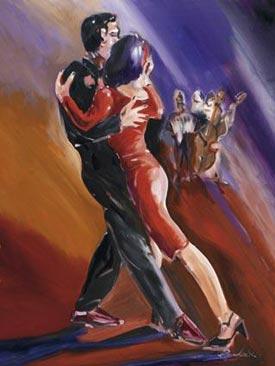 Romantic Art - Tangerine Tango1