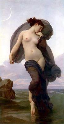 William-Adolphe Bouguereau- Evening Mood