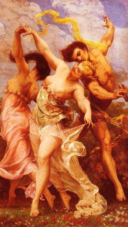 Romantic Art - art oil painting-2336