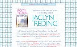 Romance Authors - Jaclyn Reding