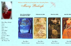 Romance Author - Mary Balogh