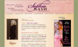 Romance Authors - Sophia Nash