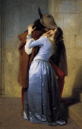 Romantic Art of Kissing - Hayez
