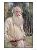 Count Leo Tolstoy Romantic Art