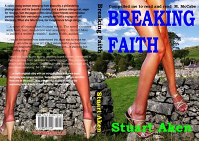 Front and back covers of Breaking Faith