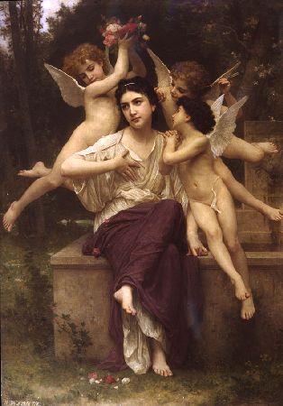 A Dream of Spring-Bouguereau