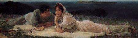 Romantic Art - Alma Tadema - A World of Their Own
