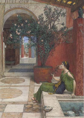 Romantic Art - Alma-Tadema - The Oleander