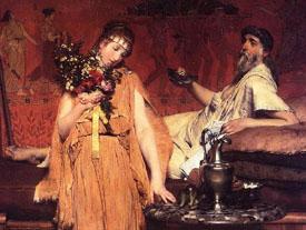 Between Hope and Fear- Alma Tadema