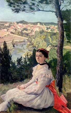 Romantic Art - Frederic Bazille