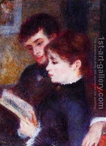 Reading Couple- Renoir