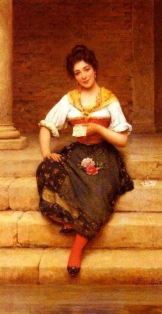 Romantic Art - The Love Letter - Blaas -romantic love letters to copy