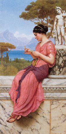 Romantic Art - The Love Letter - Fragonard