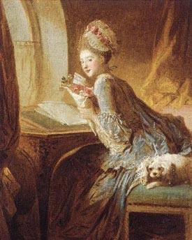 Romantic Art - The Love Letter - Godward