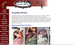 Romance Authors - Jacqueline Marten