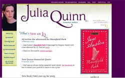 Romance Authors - Julia Quinn