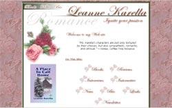 Romance Authors - Leanne Karella