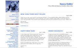 Romance Authors - Nancy Holder