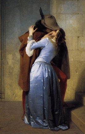 Romantic Art of Kissing - Hayez