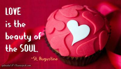 Love is beauty of soul quote